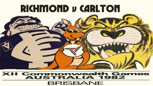 Richmond and Carlton at the Commonwealth Games