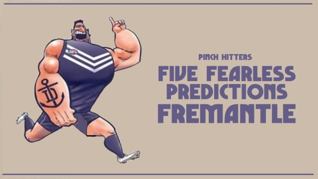 AFL 2020: Fremantle – Five Fearless Predictions