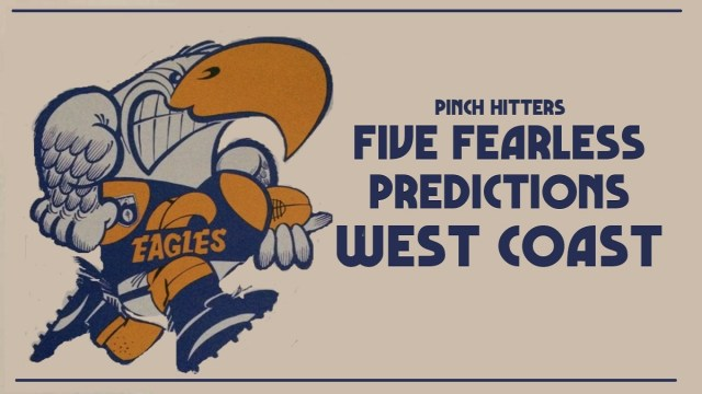 AFL 2020: West Coast – Five Fearless Predictions