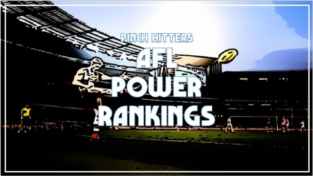 AFL 2020: Power Rankings After Round One