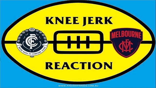 AFL 2020: Carlton v Melbourne – Round Two Knee Jerk Reaction