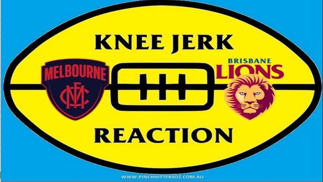 AFL 2020: Melbourne v Brisbane – Round Eight Knee Jerk Reaction