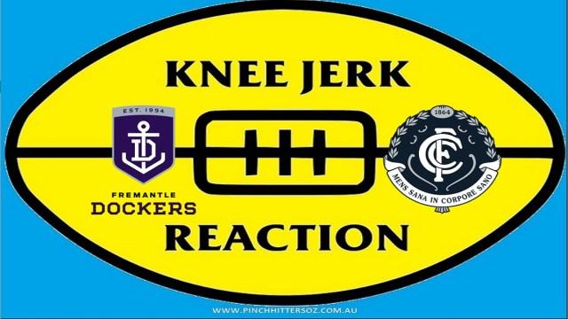 AFL 2020: Fremantle v Carlton – Round 12 Knee Jerk Reaction