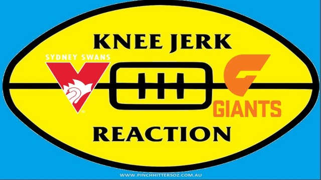 AFL 2020: Sydney v GWS – Round 12 Knee Jerk Reaction