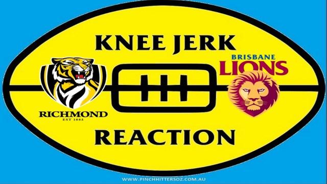 AFL 2020: Richmond v Brisbane – Round Ten Knee Jerk Reaction