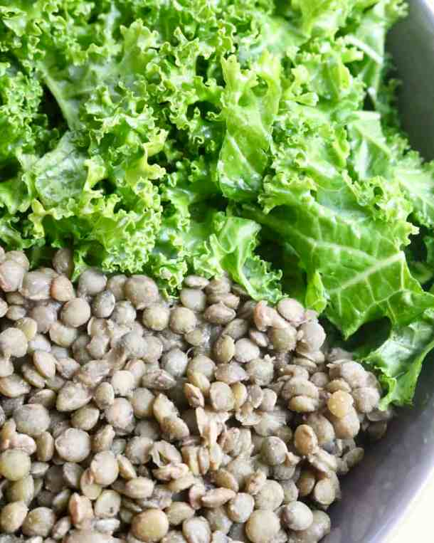 Kale and Lentils