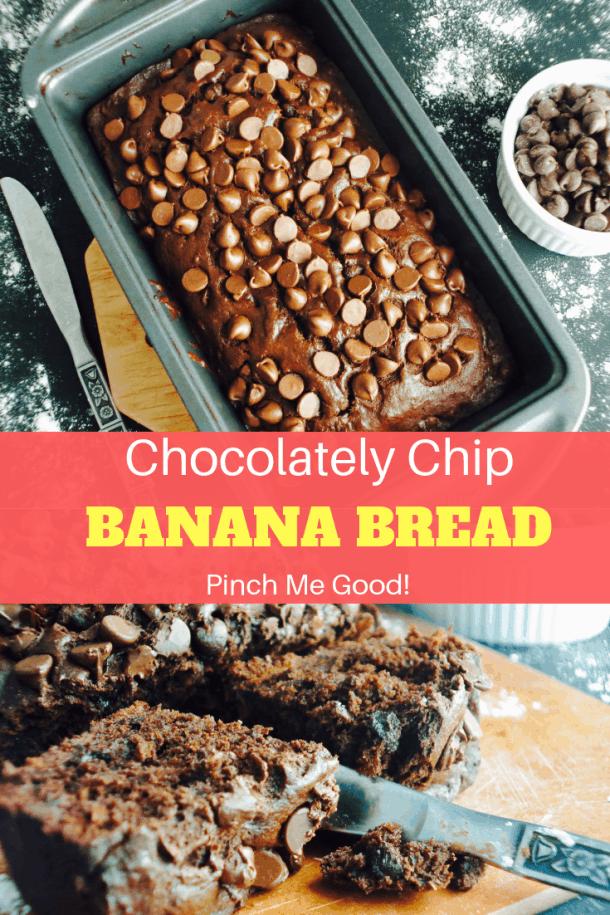 Chocolatey Chip Banana Bread
