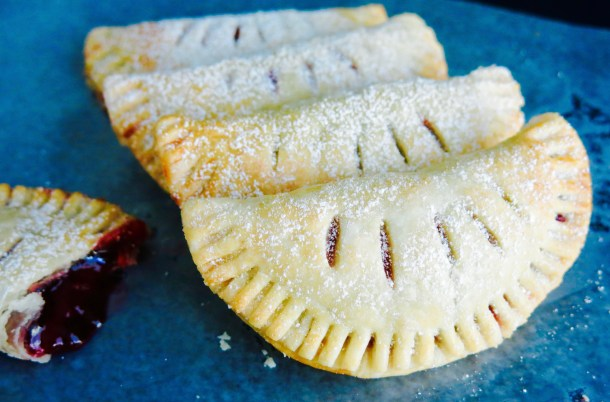 Berry Empanadas Close up Photo
