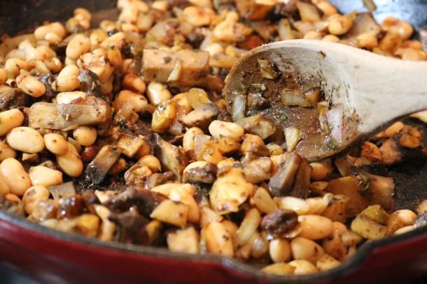 Zucchini Ravioli Mushroom Bean Filling