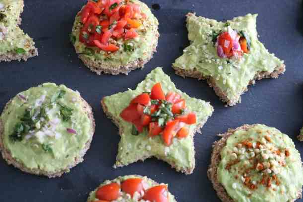 Kid-Friendly Fun shapes and variations for Avocado Toast