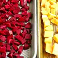 Perfectly Delicious Roasted Beets and Squash