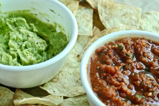 Chips, Salsa and Guacamole Photo