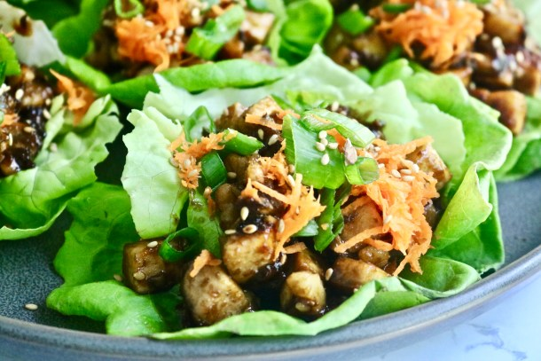 Asian Tofu Lettuce Cups Picture