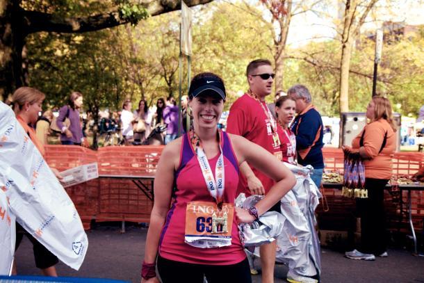 Amy Estes Hartford Marathon