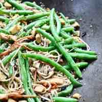 Tofu Soba Noodle Veggie Stir Fry