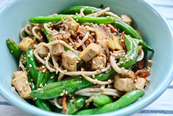 Veggie and Tofu Stir Fry