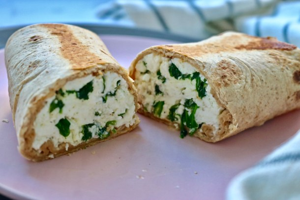 Egg white wraps