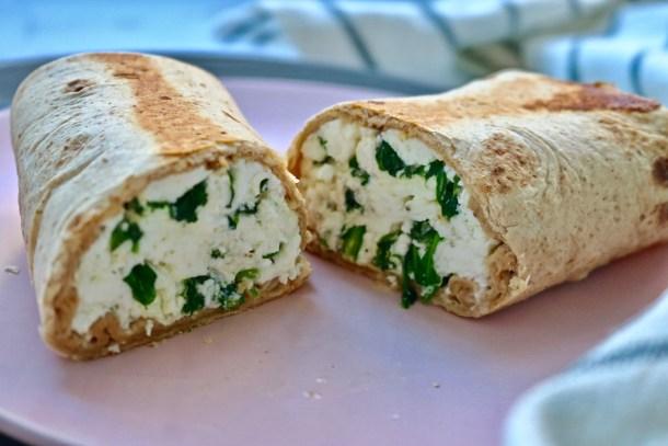 Egg white wraps