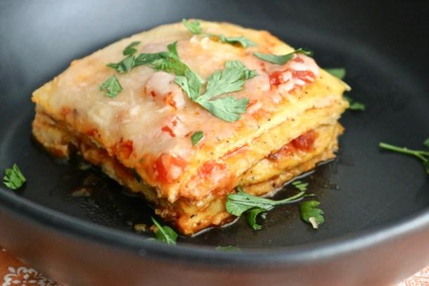 Noodle-free low-carb lasagna