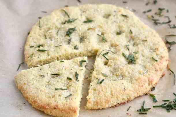 Easy Low Carb Gluten Free Focaccia Bread