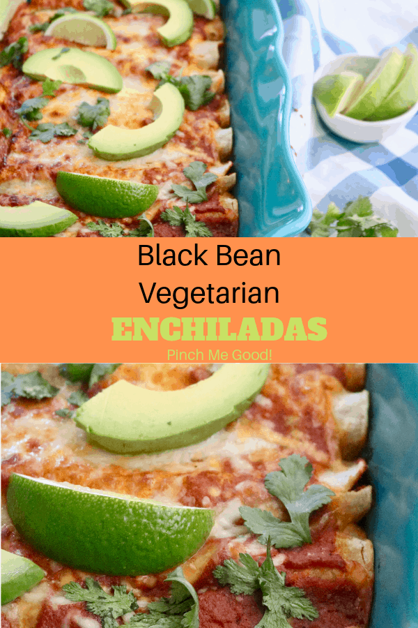 Black Bean Vegetarian Enchiladas