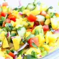Spicy Mango Salsa - Vegan