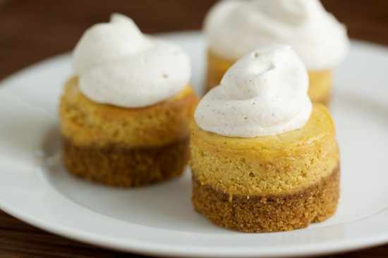 Mini Pumpkin Cheesecakes 3
