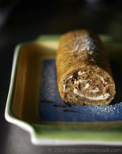 Banana Roll with Cream Cheese