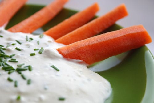 Image result for carrots and dip