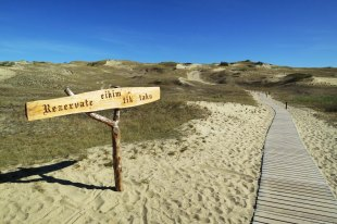 The highest dunes of Europe