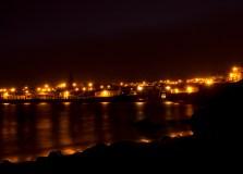 Porto Pim at night