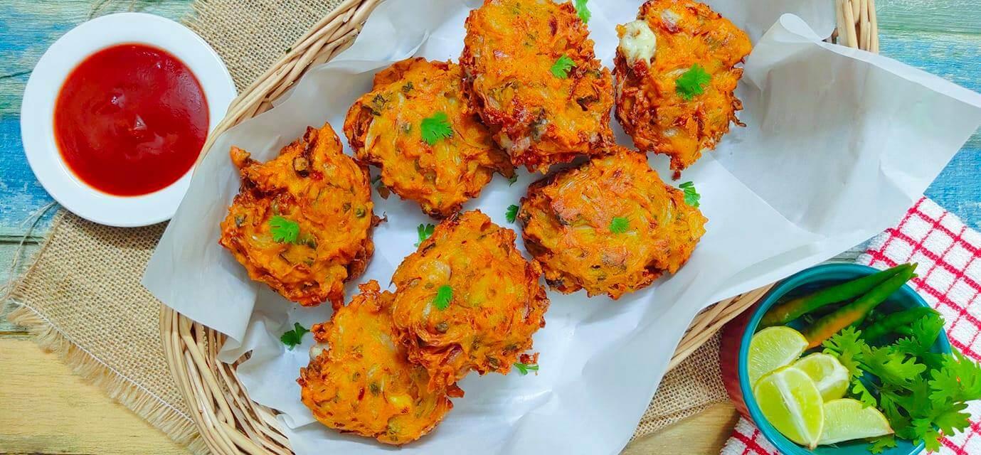 Kairi Onion Cheese Fritters