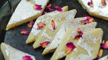 Kaju Katli No-Cook Recipe   Indian Cashew Fudge
