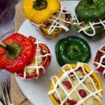Vegan Stuffed Bell Peppers