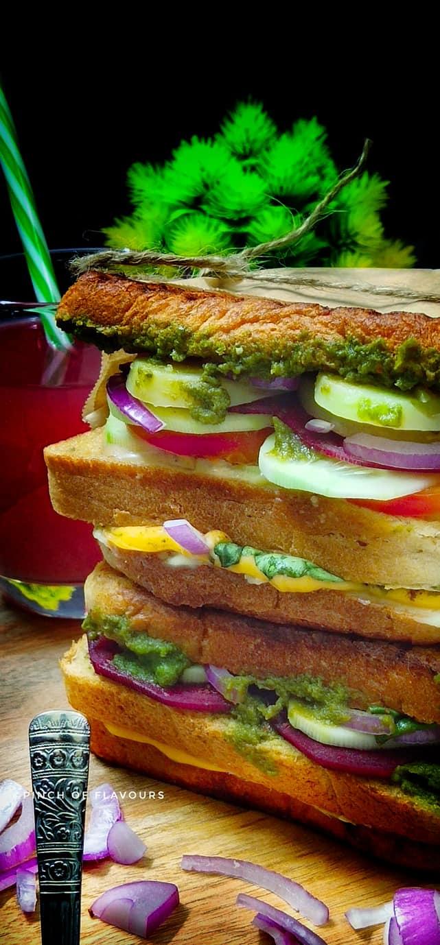 Cream Cheese Bombay Sandwich