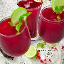 Beetroot Pomegranate Lemonade - Immunity Booster Juice