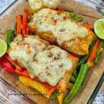 Salmon Healthy Recipes - Air Fryer Salmon & Veggies