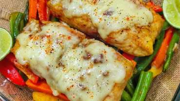 Salmon Healthy Recipes – Air Fryer Salmon & Veggies