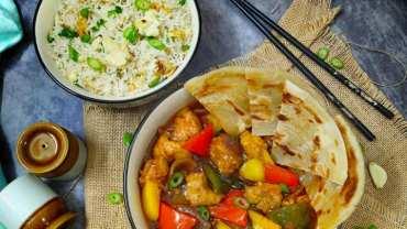Indo Chinese Chilly Garlic Chicken – Crispy fried chicken recipe