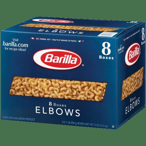 Barilla 8 Count Elbows Pasta