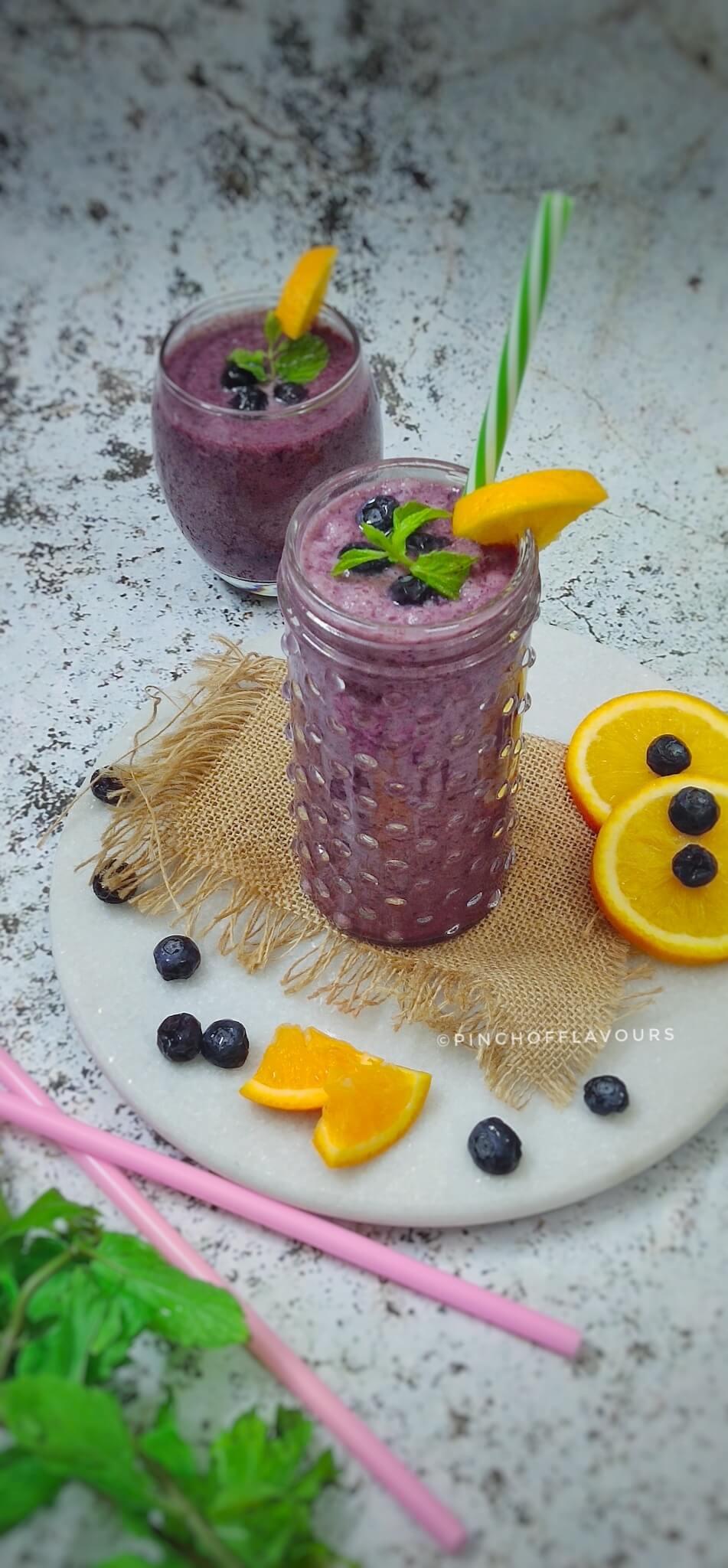 Blueberry Orange Smoothie