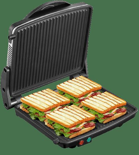Panini Press Grill, Yabano Gourmet Sandwich Maker Non-Stick