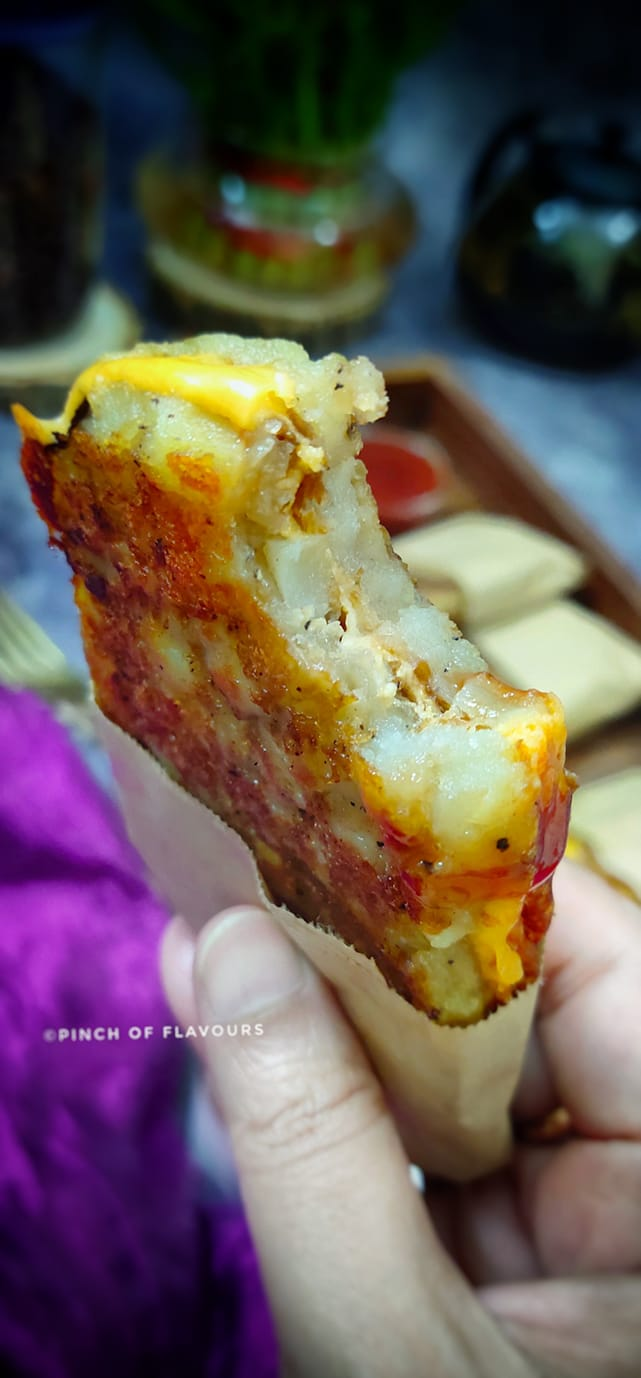 Crispy Cheesy Hash Browns
