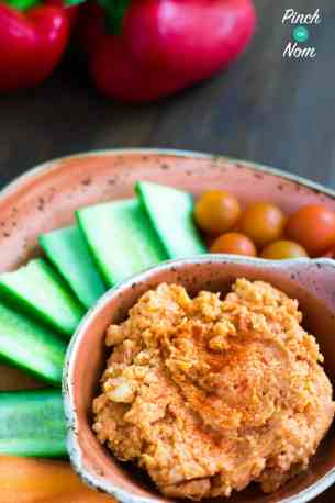 Syn Free Red Pepper Hummus | Slimming World