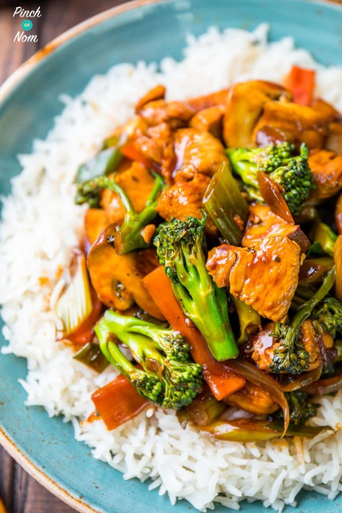 Chinese Chicken and Broccoli - Pinch Of Nom Slimming Recipes