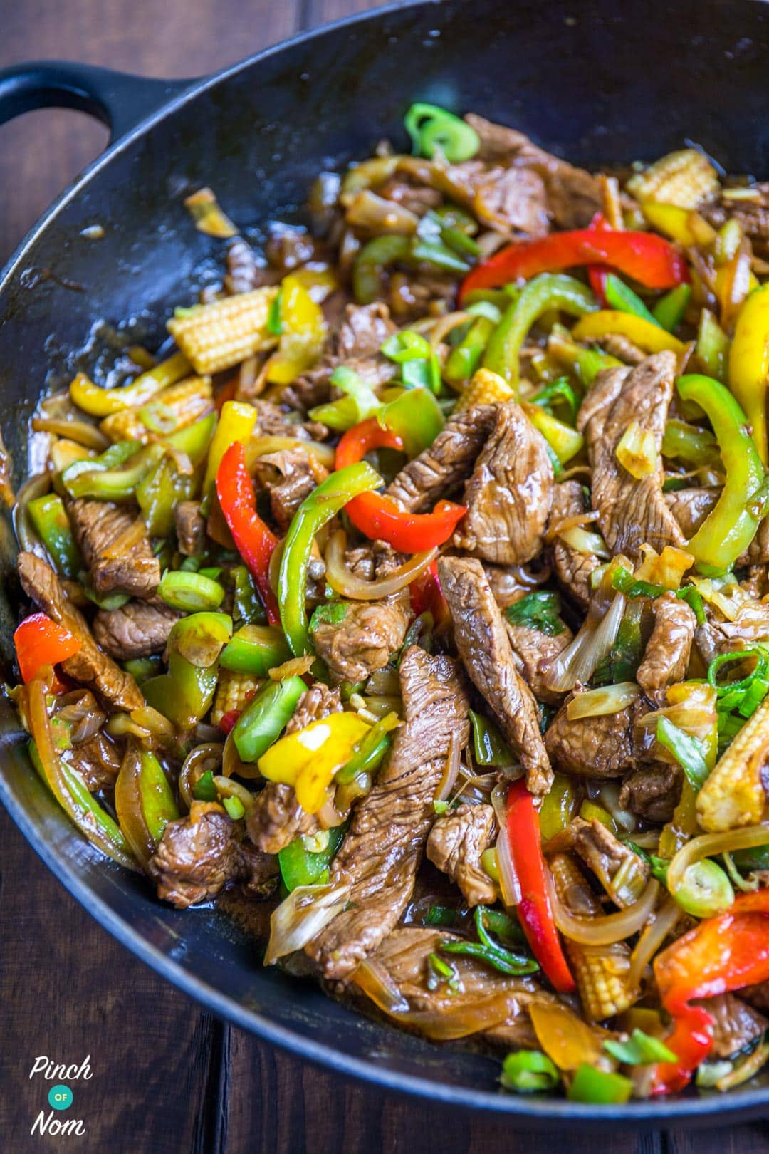 Syn Free Stirfried Beef with Ginger and Spring Onion