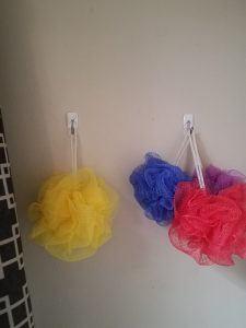 RV Storage Hacks - Luffa Hanger