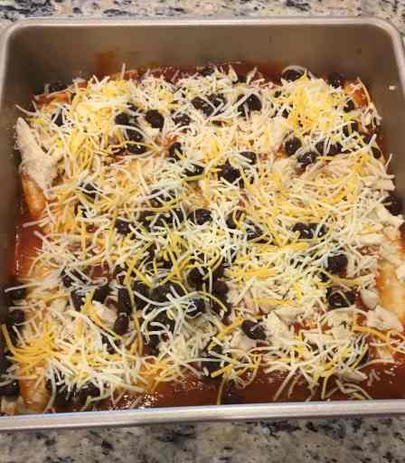 Healthy Enchilada Bake