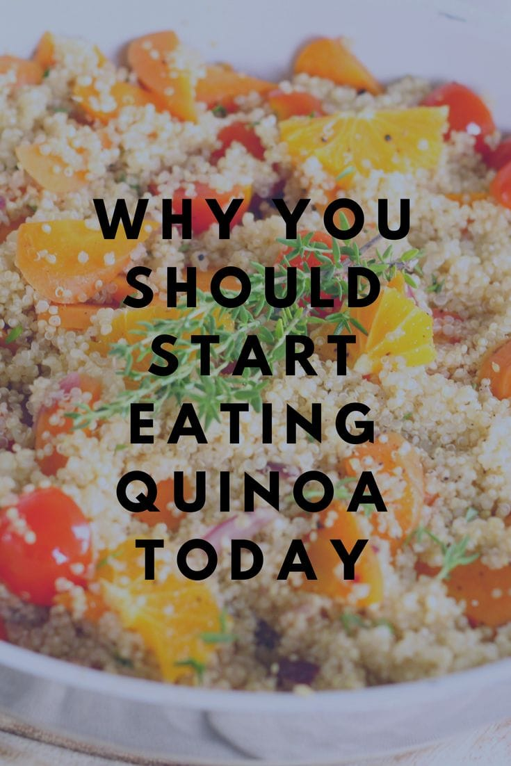 why should start eating quinoa today