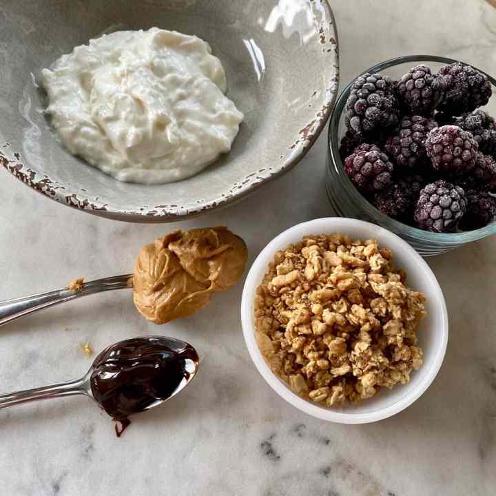 Yogurt Bowl Ingredients